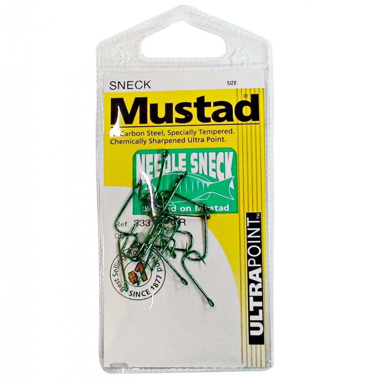 Image of Mustad Sneck Blackfish hooks