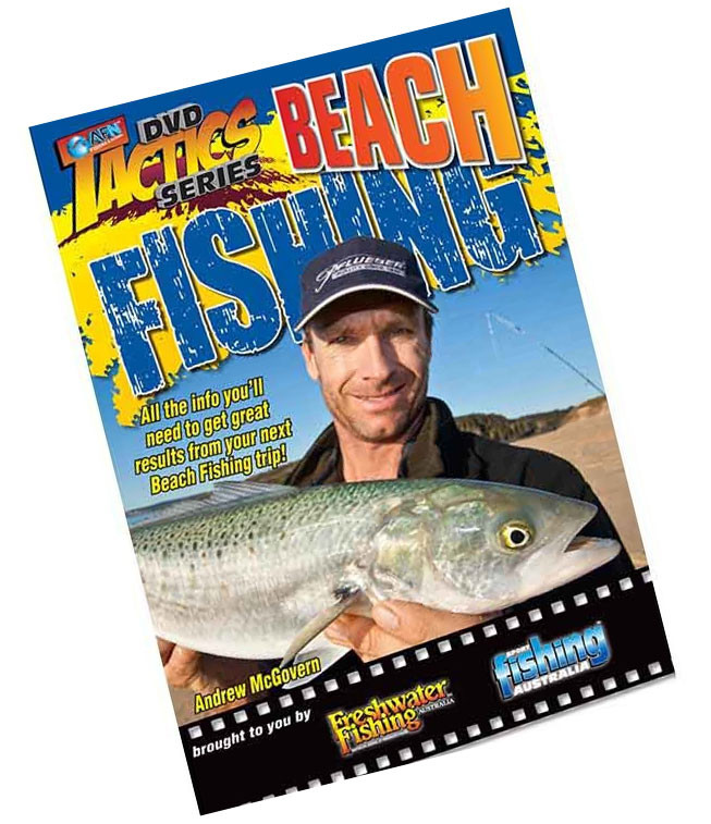 AFN Beach Fishing Tactics Fishing DVD