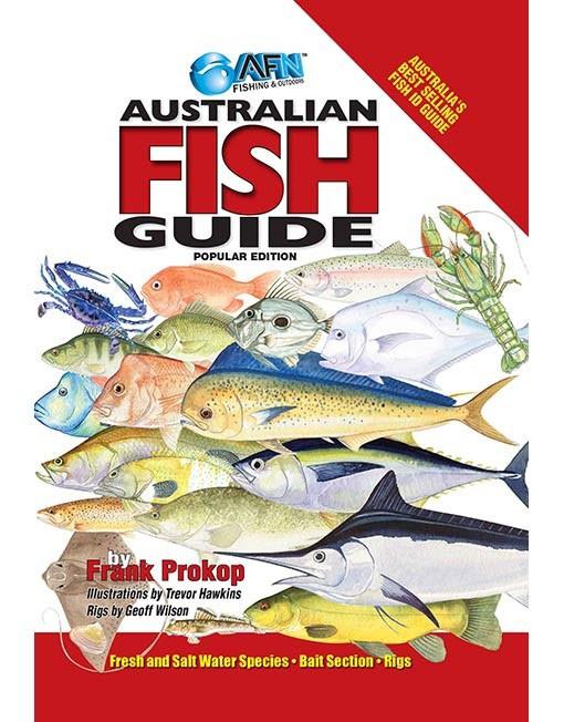 AFN Australian Fish ID Guide Book Popular Edition