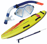 Snorkelling – Spear Fishing & Surfing gear